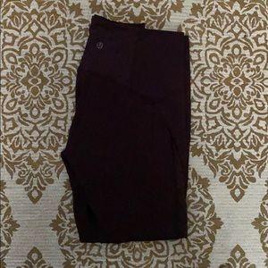 lululemon laced leggings size 8
